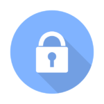 lock icon, encryption